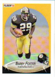 1990 Fleer Update #U25 Barry Foster RC