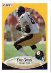 1990 Fleer Update #U26 Eric Green RC