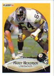 1990 Fleer Update #U28 Hardy Nickerson