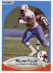 1990 Fleer Update #U33 William Fuller