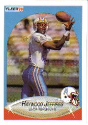 1990 Fleer Update #U34 Haywood Jeffires RC
