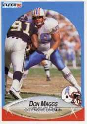 1990 Fleer Update #U35 Don Maggs RC