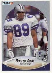 1990 Fleer Update #U37 Robert Awalt