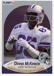 1990 Fleer Update #U38 Dennis McKinnon