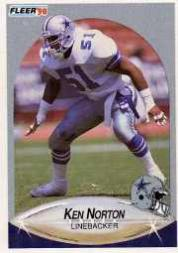 1990 Fleer Update #U39 Ken Norton Jr. RC
