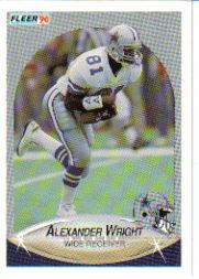 1990 Fleer Update #U41 Alexander Wright RC