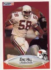 1990 Fleer Update #U42 Eric Hill