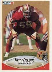 1990 Fleer Update #U48 Keith DeLong