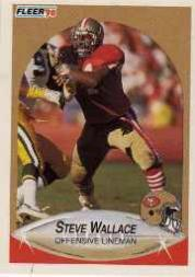 1990 Fleer Update #U51 Steve Wallace RC
