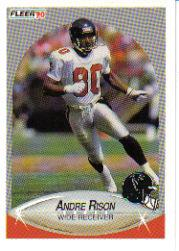 1990 Fleer Update #U60 Andre Rison
