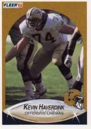 1990 Fleer Update #U61 Kevin Haverdink