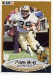 1990 Fleer Update #U62 Rueben Mayes