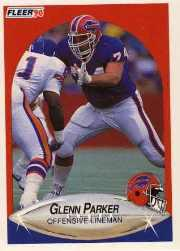 1990 Fleer Update #U70 Glenn Parker RC