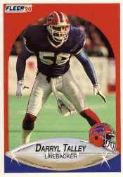 1990 Fleer Update #U73 Darryl Talley