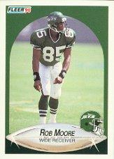 1990 Fleer Update #U77 Rob Moore RC