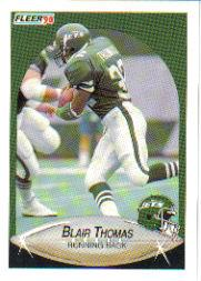 1990 Fleer Update #U78 Blair Thomas