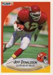 1990 Fleer Update #U87 Jeff Donaldson