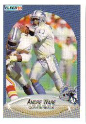 1990 Fleer Update #U92 Andre Ware