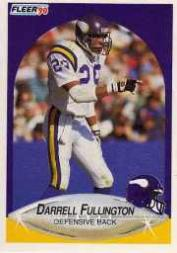 1990 Fleer Update #U93 Darrell Fullington RC