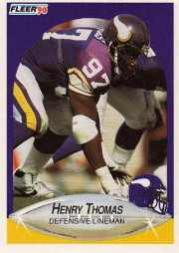 1990 Fleer Update #U95 Henry Thomas