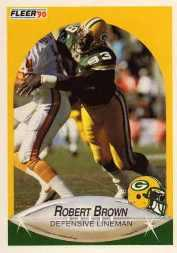 1990 Fleer Update #U96 Robert Brown