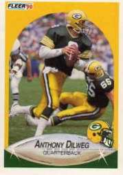 1990 Fleer Update #U98 Anthony Dilweg