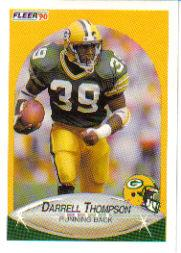 1990 Fleer Update #U99 Darrell Thompson RC