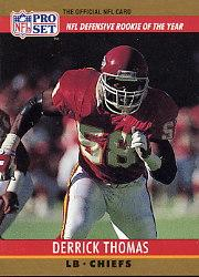 1990 Pro Set #6 Derrick Thomas D-ROY