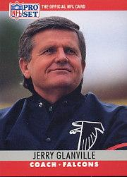 1990 Pro Set #38 Jerry Glanville CO