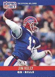 1990 Pro Set #40 Jim Kelly
