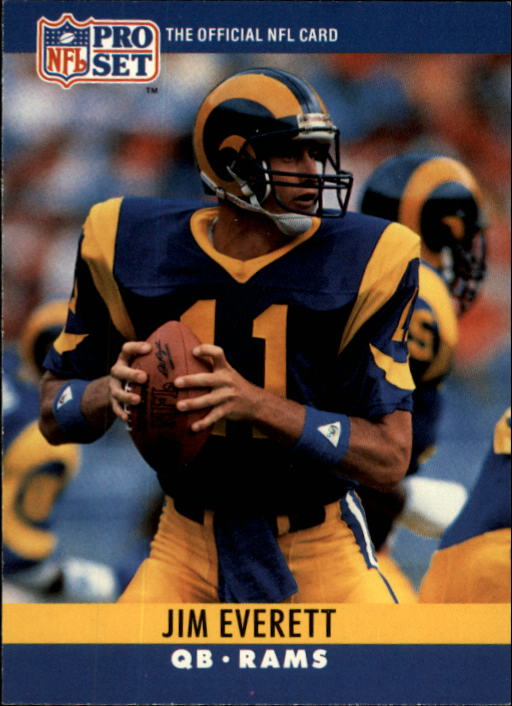 1990 Pro Set #165 Jim Everett