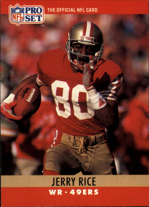 1990 Pro Set #295 Jerry Rice