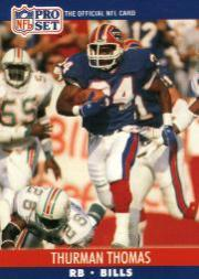 1990 Pro Set #444 Thurman Thomas