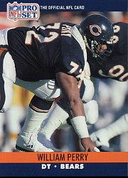 1990 Pro Set #455 William Perry