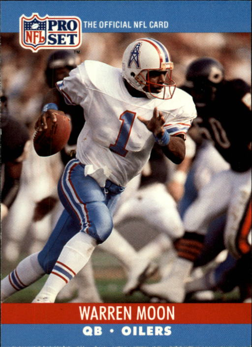 1990 Pro Set #517 Warren Moon