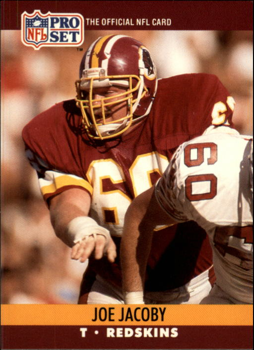 1990 Pro Set #664 Joe Jacoby