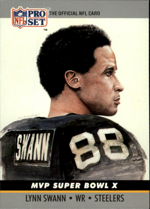 1990 Pro Set Super Bowl MVP's #10 Lynn Swann