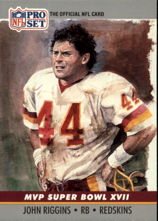 1990 Pro Set Super Bowl MVP's #17 John Riggins