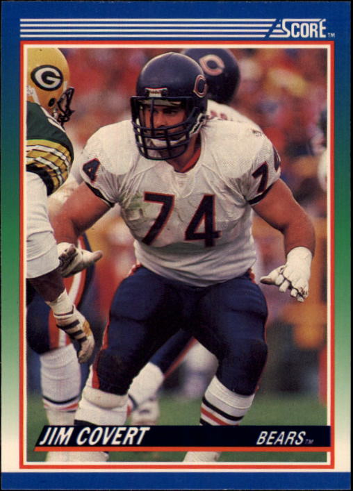 1990 Score #73 Jim Covert