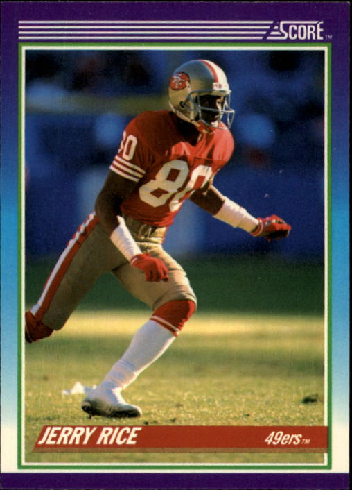 1990 Score #200 Jerry Rice