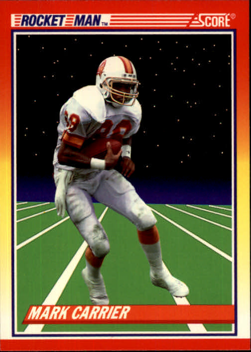 1990 Score #558 Mark Carrier WR RM