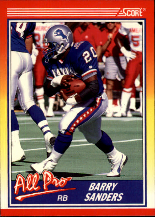 1990 Score #580 Barry Sanders AP