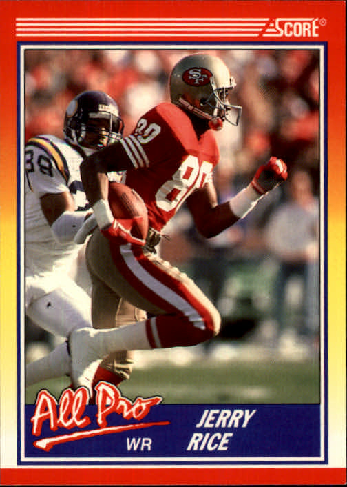1990 Score #590 Jerry Rice AP