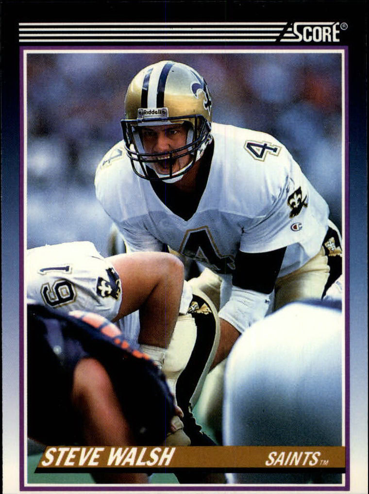 1990 Score Supplemental #36T Steve Walsh