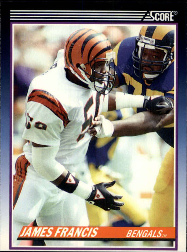 1990 Score Supplemental #85T James Francis RC