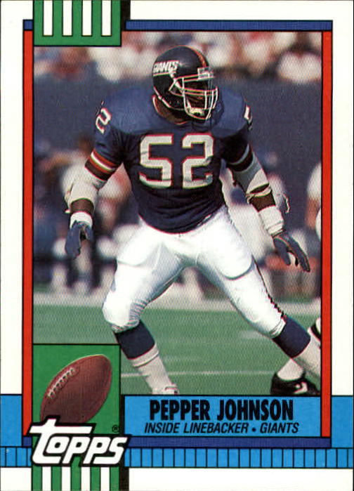 1990 Topps #54 Pepper Johnson