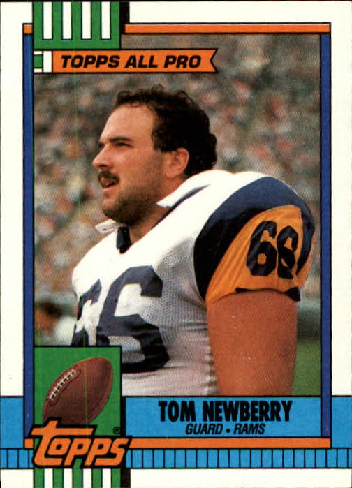 1990 Topps #70 Tom Newberry