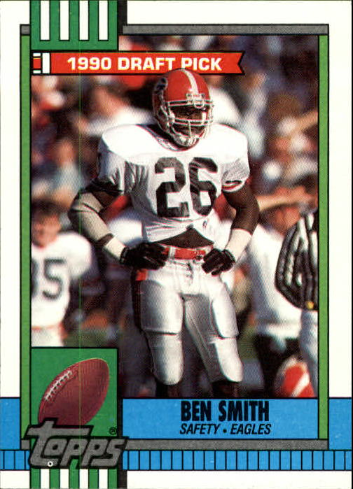 1990 Topps #84 Ben Smith RC