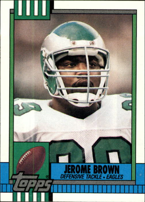 1990 Topps #88 Jerome Brown