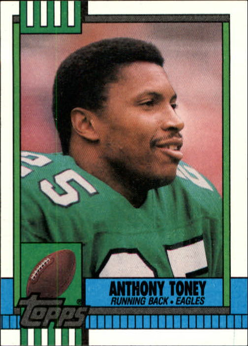 1990 Topps #90 Anthony Toney